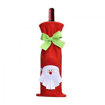 3pcs Good Quality Christmas Wine Bottle Slipcovers - COLORMIX
