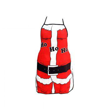 1pc Good Quality Christmas Santa Claus Apron - COLORMIX