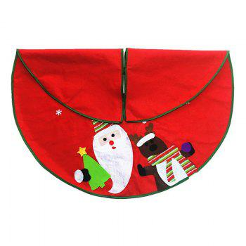 1pc good Quality Christmas Tree Skirt -  COLORMIX