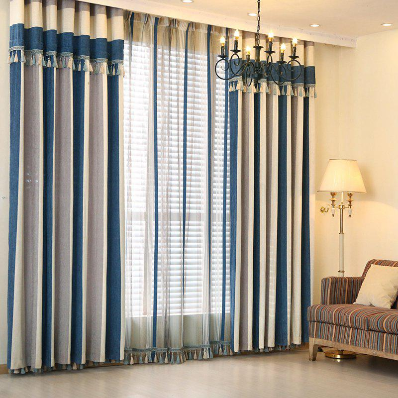 2018 european minimalist style chenilleer stitching living - European style curtains for living room ...