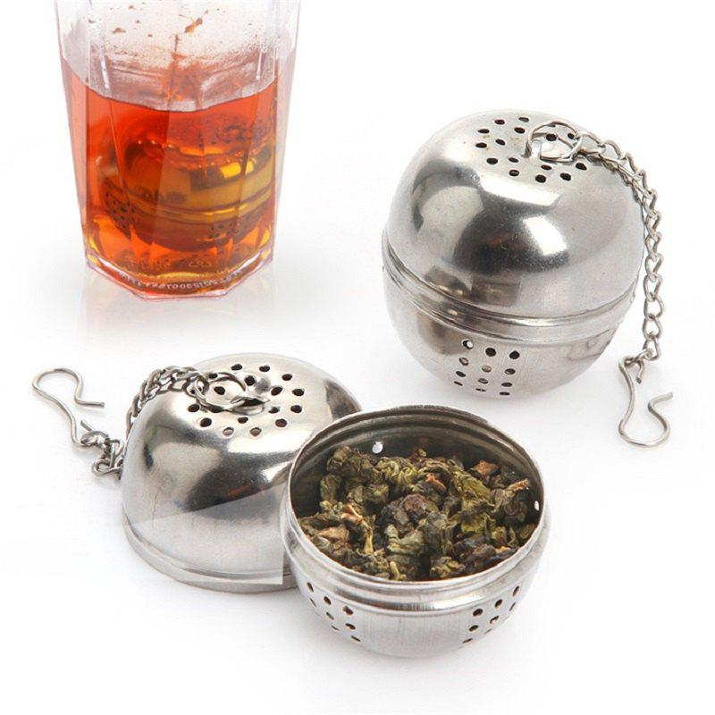 Stainless Steel Spice Jar Tea Filter - SILVER SIZE S