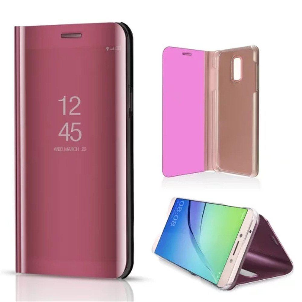 Vertical Mirror Bracket Triad Cases for Samsung Galaxy J7 Plus - PINK