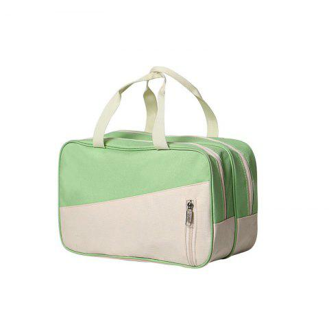 Waterproof Swimming Bag Dry Wet Separation Swimsuit Storage Bags - GREEN