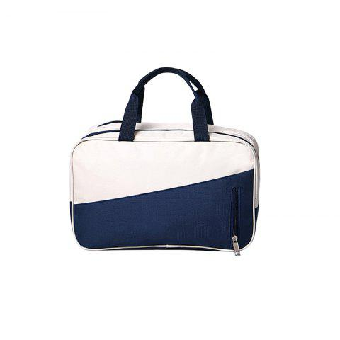 Waterproof Swimming Bag Dry Wet Separation Swimsuit Storage Bags - WHITE / BLUE