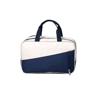 Waterproof Swimming Bag Dry Wet Separation Swimsuit Storage Bags - WHITE + BLUE WHITE / BLUE