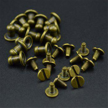 15PCS Mini Jewelry Box Chest Case Drawer Cabinet Door Pull Metal Knob Handle - ANTIQUE BRASS ANTIQUE BRASS
