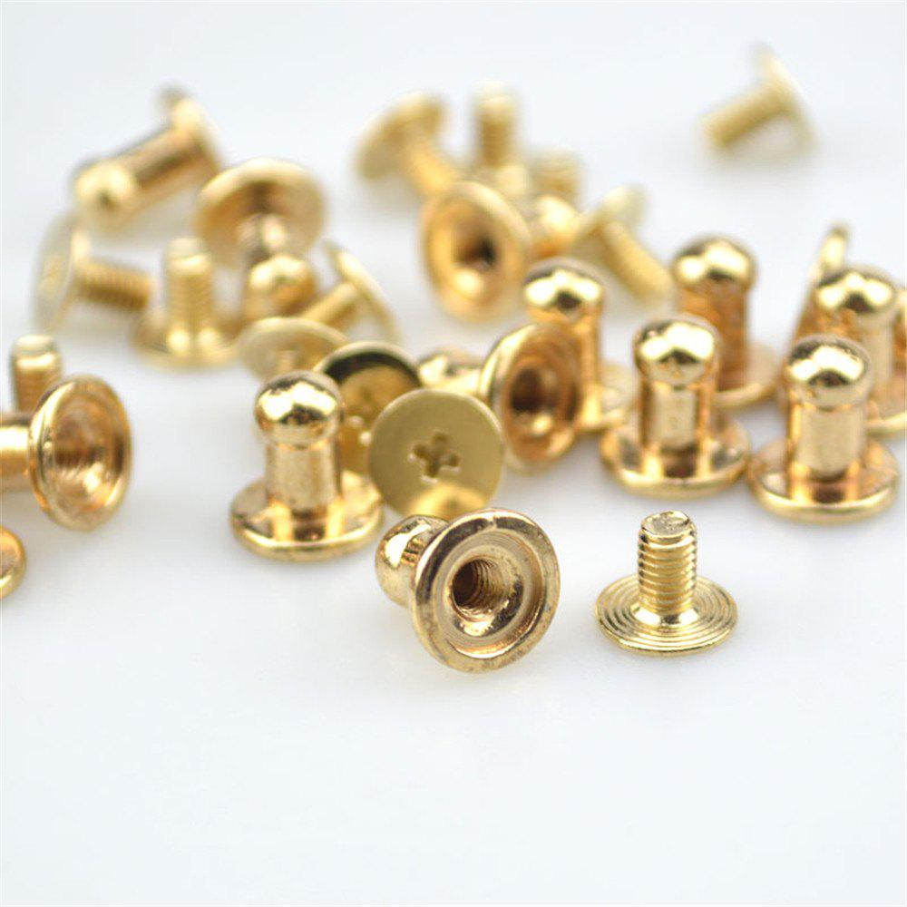 15PCS Mini Jewelry Box Chest Case Drawer Cabinet Door Pull Metal Knob Handle - GOLDEN