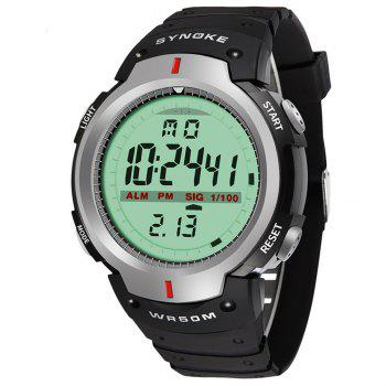 Sports Outdoor Waterproof Men Digital  Watch - GRAY GRAY