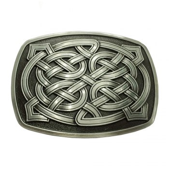 Celtic Pattern Belt Buckle