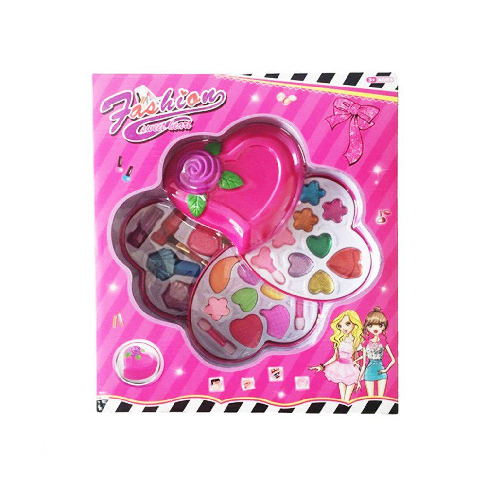 The Horse Turns To Cover The Three Layer Cosmetic Girl Toys - PINK
