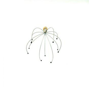 Hand Held Scalp Head Massager - GOLDEN