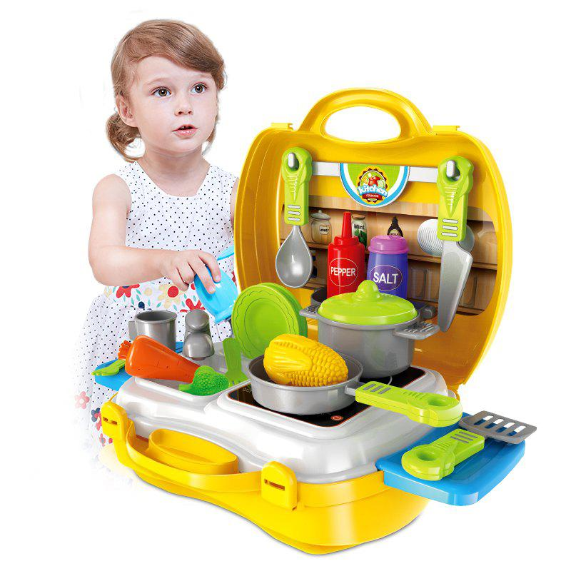 Role-Playing Simulation Suitcase Toy t3184b educational toy coin slide chip game toy playing toy set