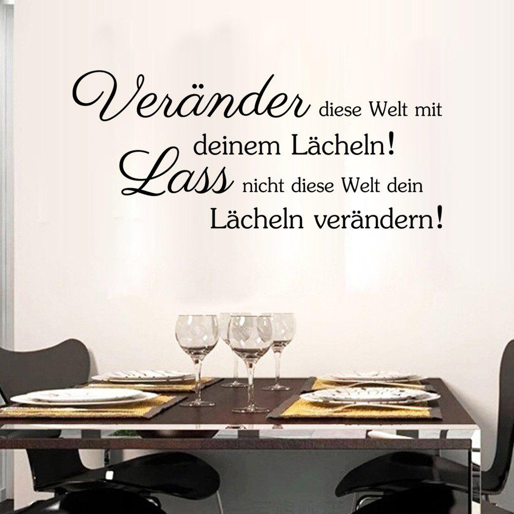 2018 DSU Art German Quote Wall Sticker DIY Home Decoration Decal ...