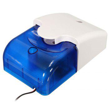 Mini Wired Strobe Siren Durable 12V Sound Alarm Strobe Flashing Red Light Sound Siren Home Security Alarm System 115dB - BLUE