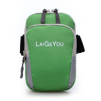 Five Colors Mobile Phone Bag The Wrist Bag -  GREEN