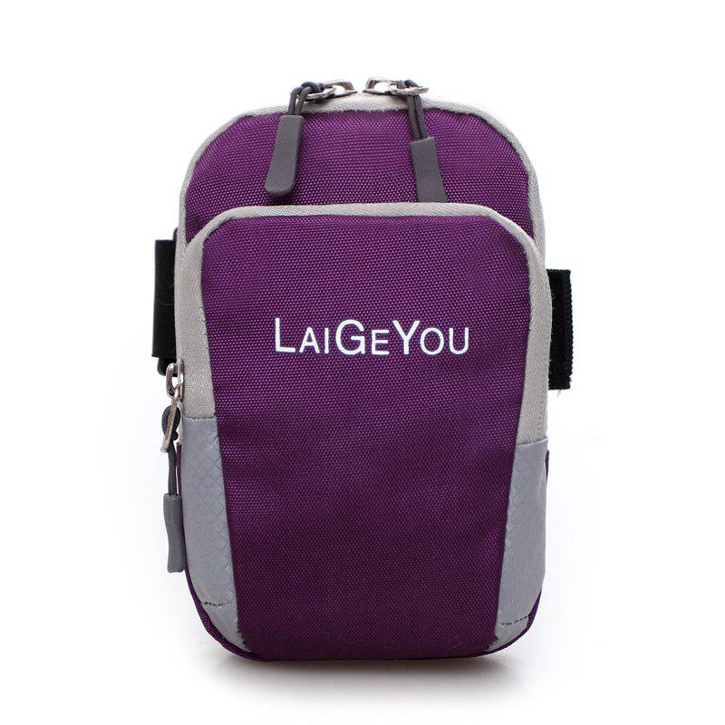 Five Colors Mobile Phone Bag The Wrist Bag - PURPLE