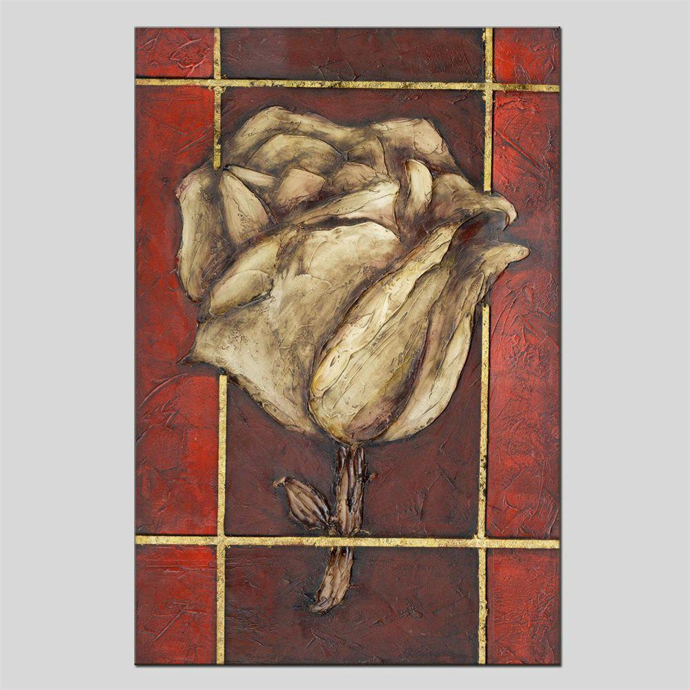 Hua Tuo HT - 1635 Flower Style Oil Painting - COLORMIX 24 X 36 INCH (60CM X 90CM)
