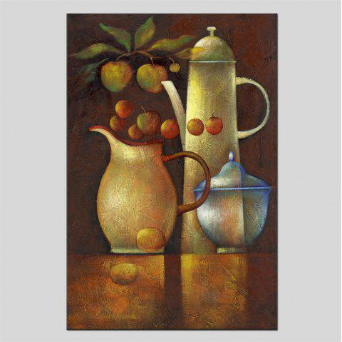 Hua Tuo Still Life Oil Painting Size 60 x 90CM HT-1638 - BROWN 24 X 36 INCH (60CM X 90CM)