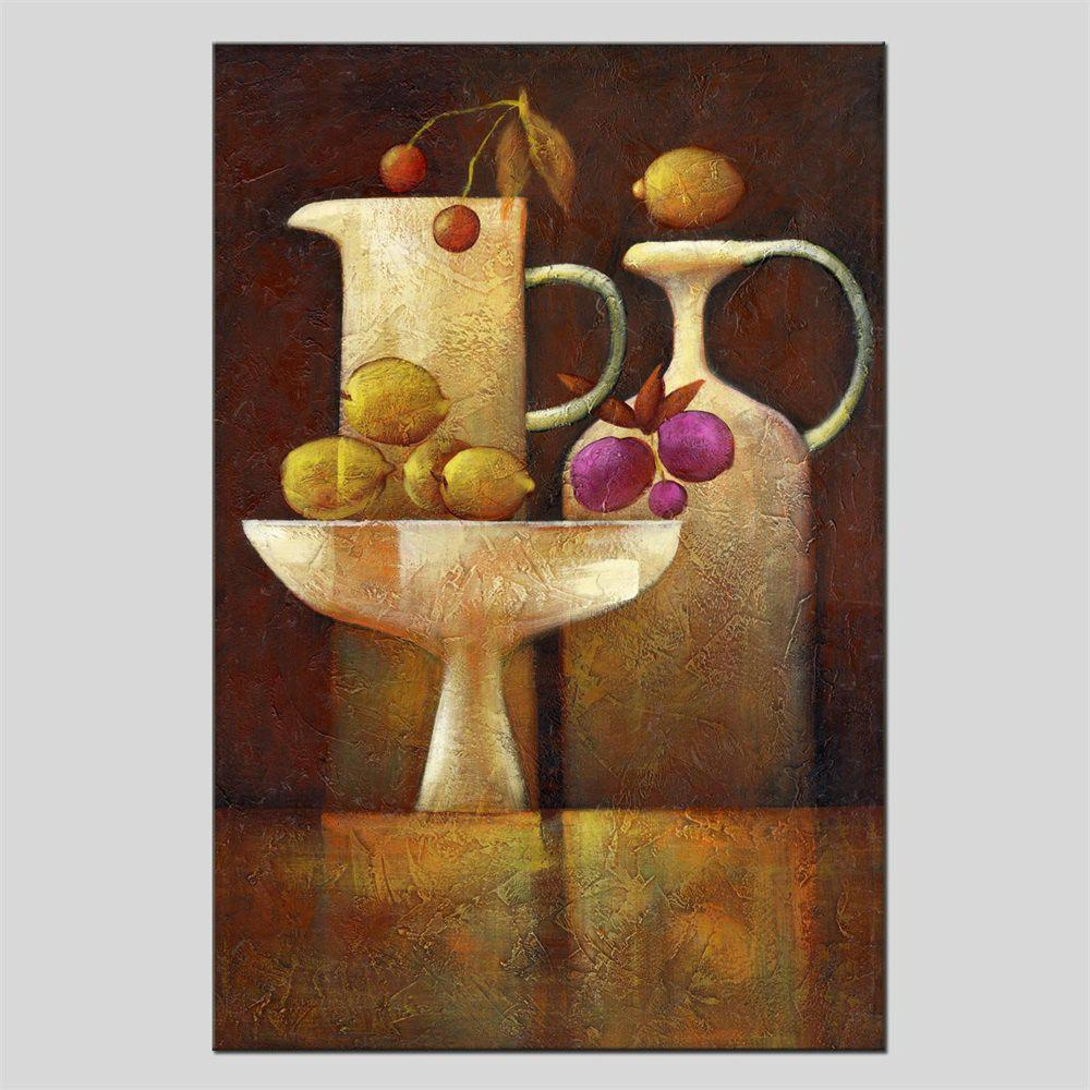 Hua Tuo Still Life Oil Painting Size 60 x 90CM HT-1639 - COLORMIX 24 X 36 INCH (60CM X 90CM)