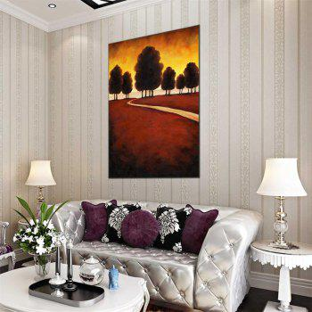 Hua Tuo Plant Oil Painting Size 60 x 90CM HT-1643 - COLORMIX 24 X 36 INCH (60CM X 90CM)