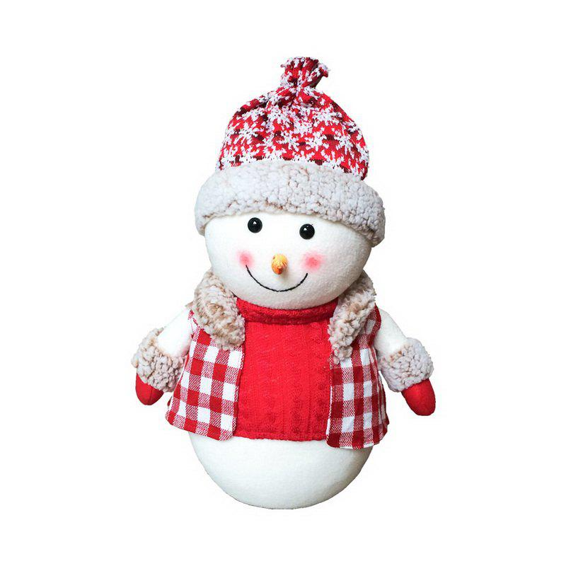 1pc Good Quality Christmas Snowman Ornament S-size - COLORMIX