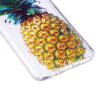 Pineapple Pattern Soft TPU Clear Case for OnePlus 5 - TRANSPARENT