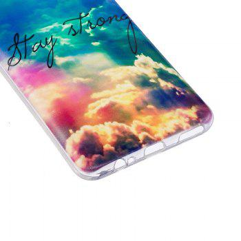 Heaven Pineapple Pattern Soft TPU Clear Case for OnePlus 5 - TRANSPARENT
