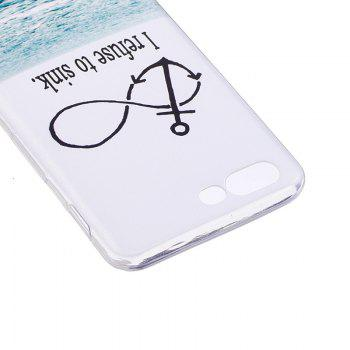 Coque transparente motif TPU Sea Pattern pour OnePlus 5 - Transparent