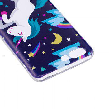 Pegasus Pattern Soft TPU Clear Case for OnePlus 5 - TRANSPARENT