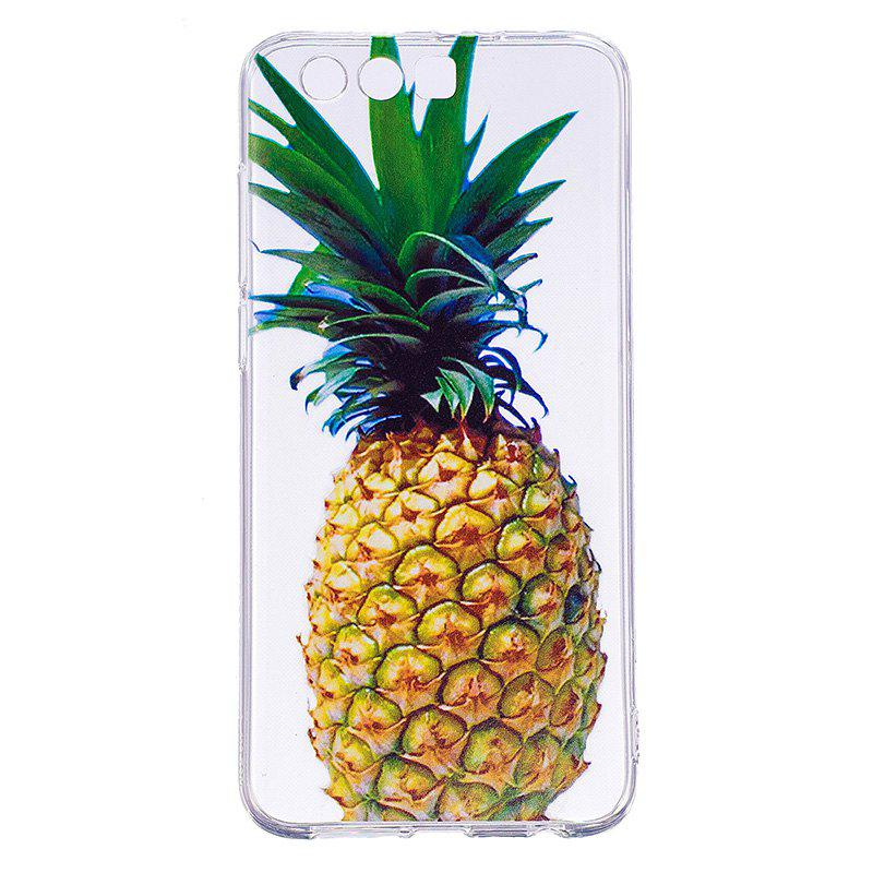Pineapple Pattern Soft TPU Clear Case for Huawei Honor 9 - TRANSPARENT