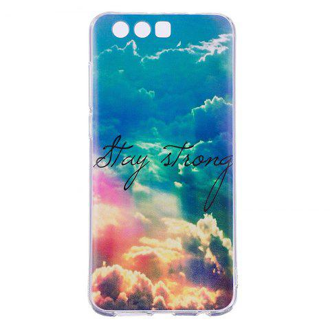 Heaven Pineapple Pattern Soft TPU Clear Case for Huawei Honor 9 - TRANSPARENT