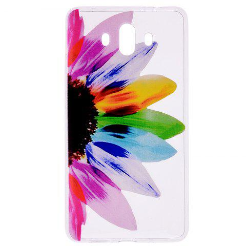 Sunflower Pattern Soft TPU Clear Case for Huawei Mate 10 - TRANSPARENT