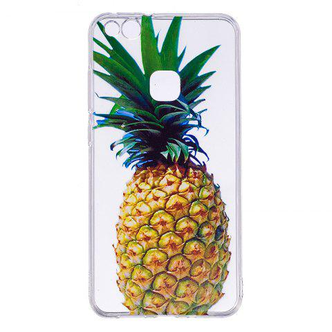 Pineapple Pattern Soft TPU Clear Case for Huawei P10 Lite - TRANSPARENT