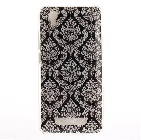 Totem Soft Clear IMD TPU Phone Casing Mobile Smartphone Cover Shell Case for ZTE A452 Blade X3 D2 T620 Q519T - GRAY