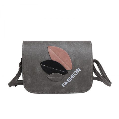 Simple Stylish All Match Mini Messenger Bag - GRAY