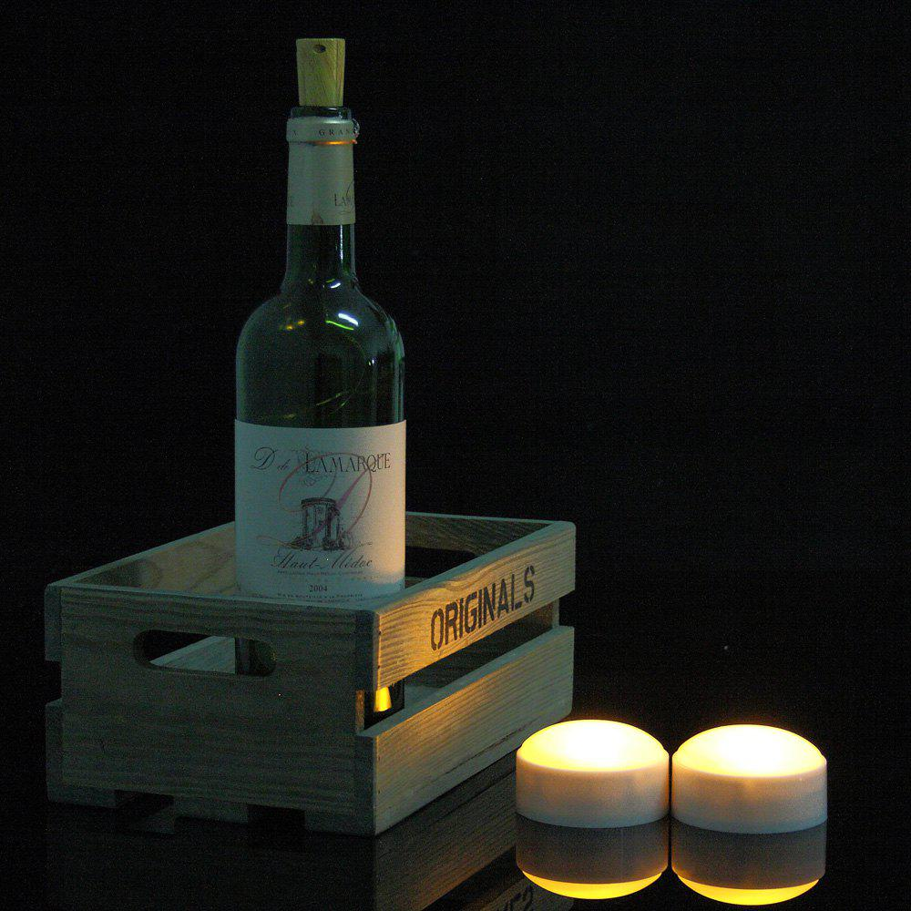 Set of Two Pumpkin Lights with remote White - WHITE 2PCS