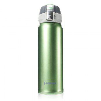 Cup Bear New UV Solid Color Stainless Steel Simple Insulation Cup 450ML - FERN FERN