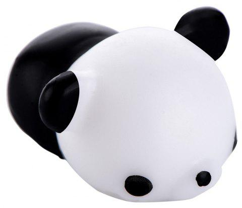 Squishy Cat Mochi Antistress Toys Kawaii Stress Relief Cute Funny Animals Squeeze Entertainment Gadget Kid Novelty Gift - BLACK