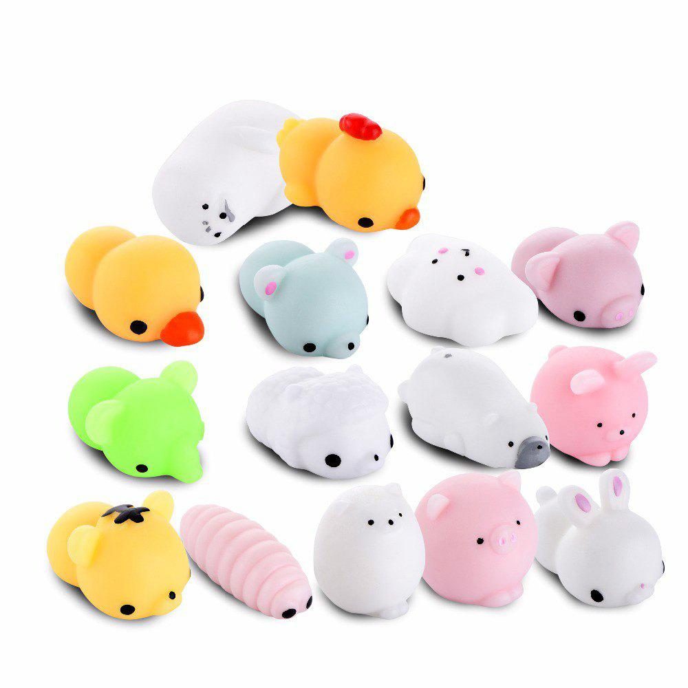2018 squishy cat mochi antistress toys kawaii stress relief cute funny animals squeeze
