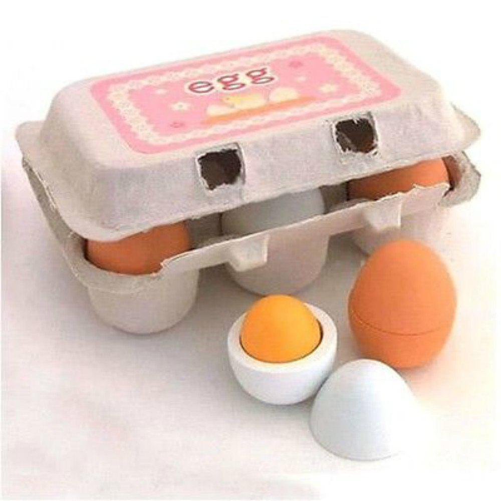 Wooden Kitchen Toys For Girls Kids Pretend Play Food Eggs hot sale set plastic kitchen food fruit vegetable cutting toys kids baby early educational toy pretend play cook cosplay safety