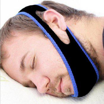 Chin To Prevent Snoring and Dislocation - BLACK BLACK