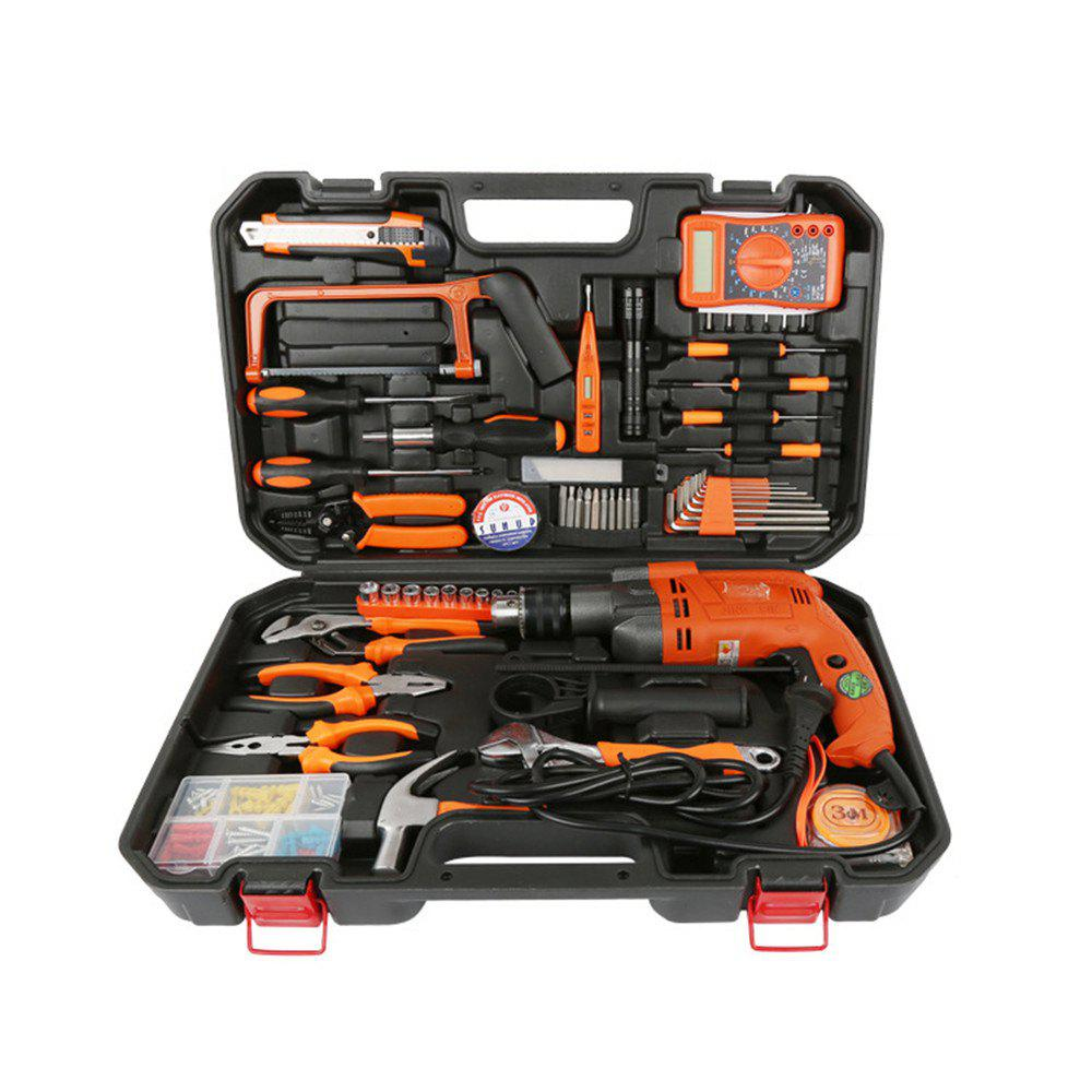 Universal Percussion Drill Combination Maintenance Suit - COLORMIX SIE:51.5 X 32 X 9CM