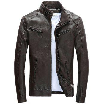 Men S Winter Jacket Motorcycle Leather Jacket