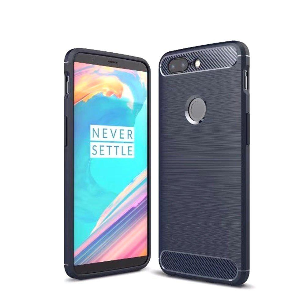 Carbon Fiber Drawing Case for OnePlus 5T - BLUE
