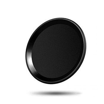 Anti-dust Dust Plug Set Camera Lens Protective Case Cover with Home Button Sticker for iPhone 8  / 7 - BLACK