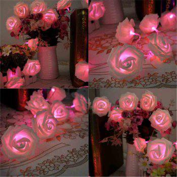 16.4FT New Christmas Day Decoration Supplies LED Lights Rose String Light - PINK