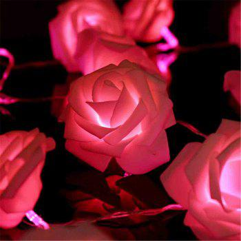 33FT New Christmas Day Decoration Supplies LED Lights Rose String Light -  PINK