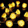 33FT New Christmas Day Decoration Supplies LED Lights Rose String Light - WARM WHITE