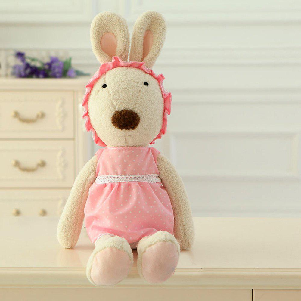 30CM Plush Toy Doll with Baby Wear - WHITE