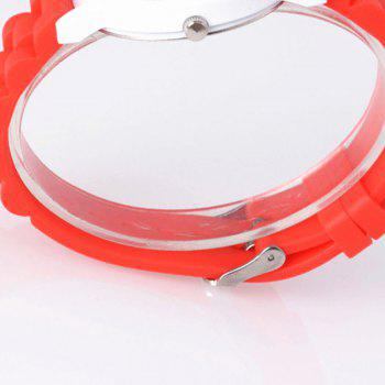 ZhouLianFa New Fashion Quartz Retro Quartz Watch -  RED